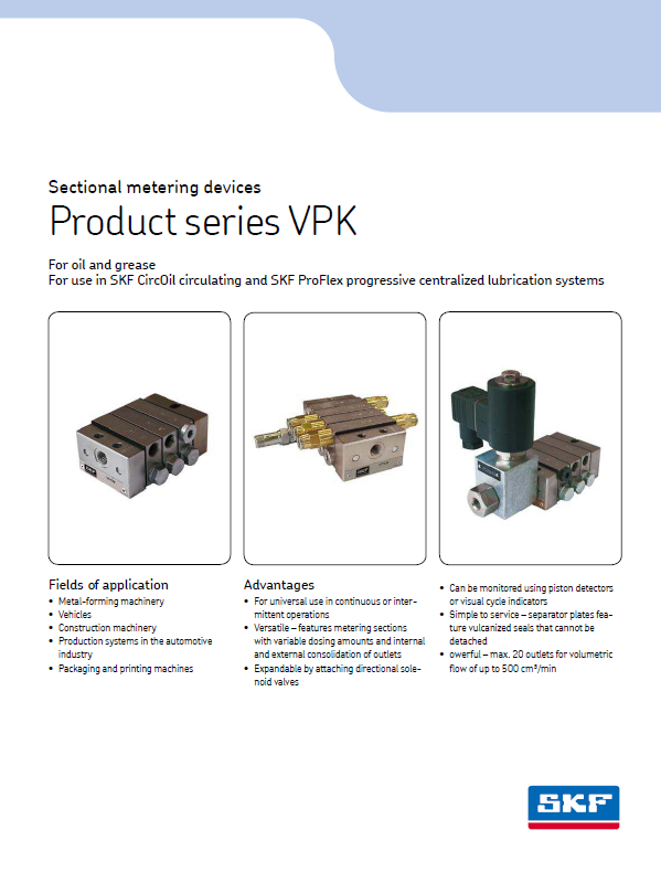 Progressiv metering Devices