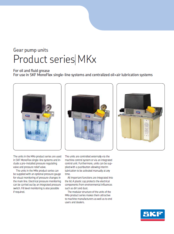Product series MKx