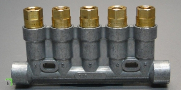 Prelubrication distributor series 340 for Oil - Lubrication 5-digit