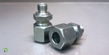 Straight screw-in fittings with Whitworth pipe thread for Ø10